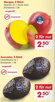 Werbung mit schon immer unverpackten Früchten