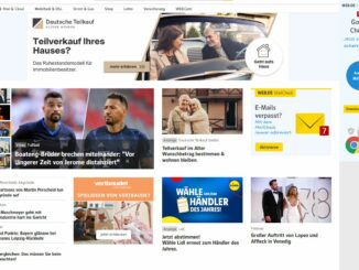 Exzessive Internetwerbung: Web.de-Seite mit über 50% Werbeinhalt
